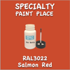 RAL 3022 Salmon Red 2oz Bottle with Brush