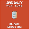 RAL 3022 Salmon Red Pint Can