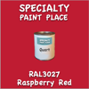 RAL 3027 Raspberry Red Quart Can