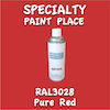 RAL 3028 Pure Red 16oz Aerosol Can