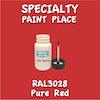 RAL 3028 Pure Red 2oz Bottle with Brush