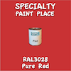 RAL 3028 Pure Red Pint Can