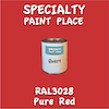 RAL 3028 Pure Red Quart Can