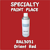 RAL 3031 Orient Red 16oz Aerosol Can