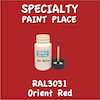 RAL 3031 Orient Red 2oz Bottle with Brush