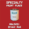 RAL 3031 Orient Red Gallon Can