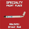 RAL 3031 Orient Red Pen