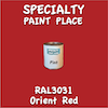 RAL 3031 Orient Red Pint Can