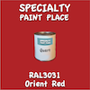 RAL 3031 Orient Red Quart Can