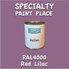RAL 4001 Red Lilac Gallon Can