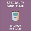 RAL 4001 Red Lilac Quart Can