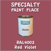 RAL 4002 Red Violet Gallon Can