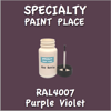RAL 4007 Purple Violet 2oz Bottle with Brush
