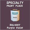 RAL 4007 Purple Violet Gallon Can
