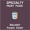 RAL 4007 Purple Violet Pint Can