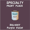 RAL 4007 Purple Violet Quart Can