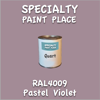 RAL 4009 Pastel Violet Quart Can