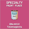RAL 4010 Telemagenta Quart Can