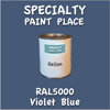 RAL 5000 Violet Blue Gallon Can