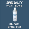 RAL 5001 Green Blue 16oz Aerosol Can