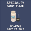 RAL 5003 Saphire Blue 2oz Bottle with Brush