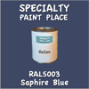 RAL 5003 Saphire Blue Gallon Can