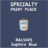 RAL 5003 Saphire Blue Pint Can