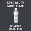 RAL 5004 Black Blue 16oz Aerosol Can