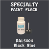 RAL 5004 Black Blue 2oz Bottle with Brush
