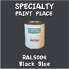 RAL 5004 Black Blue Gallon Can
