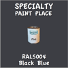 RAL 5004 Black Blue Pint Can
