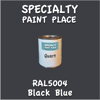 RAL 5004 Black Blue Quart Can