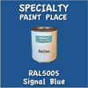 RAL 5005 Signal Blue Gallon Can