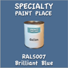 RAL 5007 Brilliant Blue Gallon Can