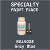 RAL 5008 Gray Blue 2oz Bottle with Brush