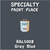 RAL 5008 Gray Blue Pint Can