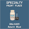 RAL 5009 Azure Blue 2oz Bottle with Brush