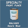 RAL 5009 Azure Blue Gallon Can