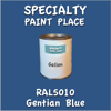 RAL 5010 Gentian Blue Gallon Can