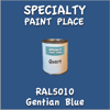 RAL 5010 Gentian Blue Quart Can