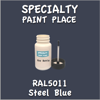 RAL 5011 Steel Blue 2oz Bottle with Brush