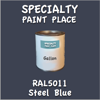 RAL 5011 Steel Blue Gallon Can