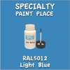 RAL 5012 Light Blue 2oz Bottle with Brush