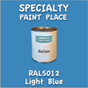 RAL 5012 Light Blue Gallon Can