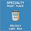 RAL 5012 Light Blue Quart Can