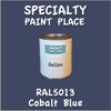 RAL 5013 Cobalt Blue Gallon Can