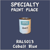 RAL 5013 Cobalt Blue Quart Can