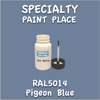 RAL 5014 Pigeon Blue 2oz Bottle with Brush