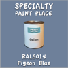 RAL 5014 Pigeon Blue Gallon Can