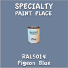 RAL 5014 Pigeon Blue Pint Can